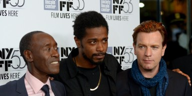 Don Cheadle, Keith Stanfield and Ewan McGregor attend 53rd New York Film Festival Closing Night Gala Screening of 'Miles Ahead' at Alice Tully Hall, Lincoln Center on October 10, 2015 in New York City.