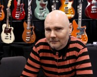 Musician Billy Corgan signs autographs at the 2016 NAMM Show Opening Day at the Anaheim Convention Center on January 21, 2016 in Anaheim, California.