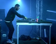 Kaytranada performs onstage during day 3 of the 2015 Coachella