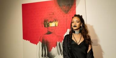 Rihanna's 8th album artwork reveal for 'ANTI'