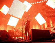 Thom Yorke of Radiohead performs live on stage at Sydney Entertainment Centre on November 12, 2012 in Sydney, Australia