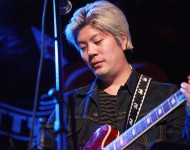 James Iha performs during 'Pettyfest' at Bowery Ballroom on October 6, 2011 in New York City.