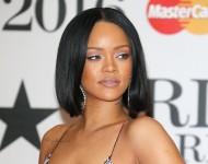 Rihanna attends the BRIT Awards 2016