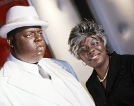 Christopher 'Biggie Smalls' Wallace and Voletta Wallace