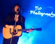 Father John Misty performs