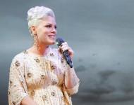 Pink performs onstage