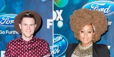 Trent Harmon and La'Porsha Renae of 'American Idol' Season 15
