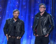 The Black Keys induct Steve Miller at the 31st Annual Rock And Roll Hall Of Fame Induction Ceremony