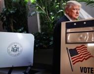 Donald Trump Votes in New York