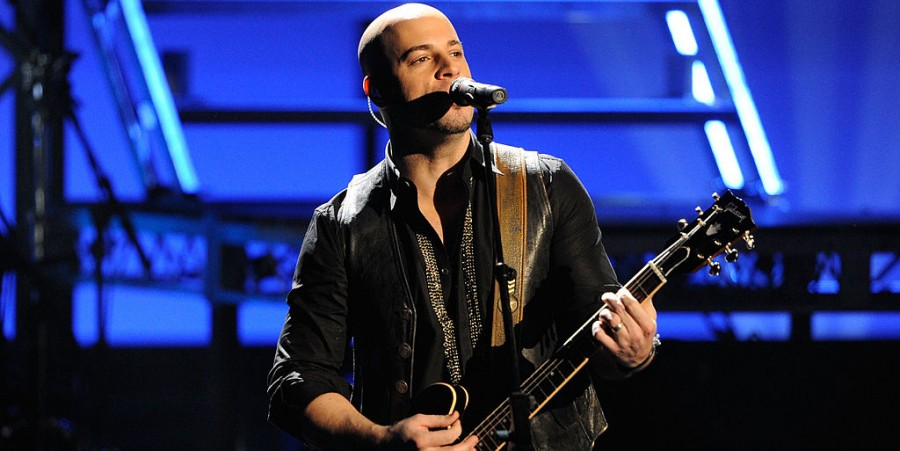 Musician Chris Daughtry of the band Daughtry