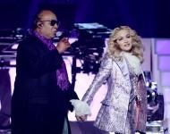 Stevie Wonder and Madonna