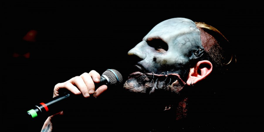 Singer Corey Taylor of Slipknot attends the Ozzy Osbourne and Corey Taylor special announcement at the Hollywood Palladium