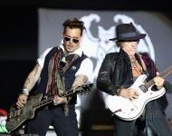 Hollywood Vampires Perform At Hessentag In Herborn