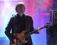 Trey Anastasio of Phish performs onstage at the 25th Annual Rock And Roll Hall of Fame Induction Ceremony on March 15, 2010