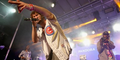 Rapper Lil Dicky performs onstage during the PANDORA Discovery Den SXSW on March 18, 2016