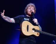 Ed Sheeran performs at Mt Smart Stadium on December 12, 2015 in Auckland, New Zealand