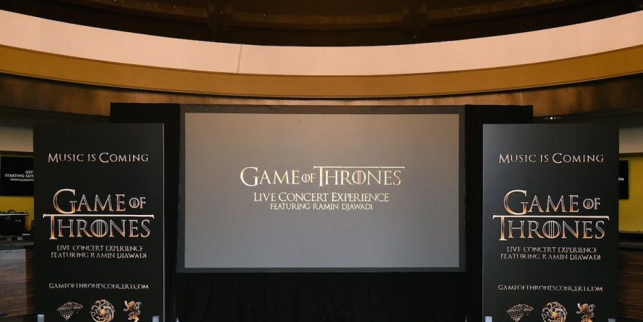 Game of Thrones Live Concert Experience featuring composer Ramin Djawadi at the Hollywood Palladium on August 8, 2016 in Los Angeles, California