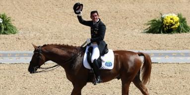 Severo Jesus Jurado Lopez of Spain riding Lorenzo