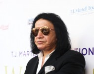 Gene Simmons attends the Women of Influence Awards at The Wilshire Ebell Theatre on June 21, 2016 in Los Angeles, California