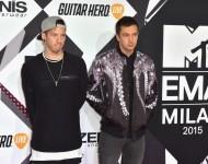 Twenty One Pilots at the MTV EMAs at Mediolanum Forum on October 25, 2015