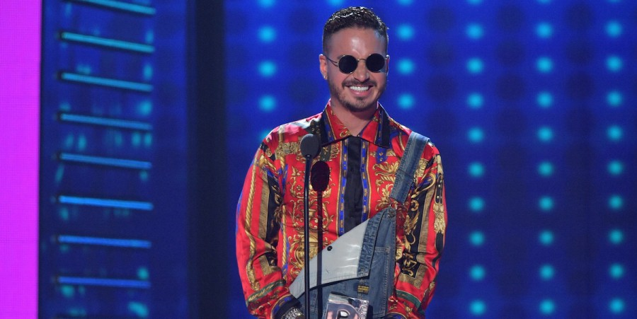 J Balvin at the Univision's 13th Edition Of Premios Juventud Youth Awards at Bank United Center on July 14, 2016 in Miami, Florida