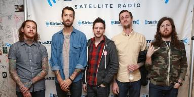 The Devil Wears Prada visits SiriusXM Studios on September 18, 2013