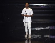 Kanye West performs onstage during the 2016 MTV Video Music Awards at Madison Square Garden on August 28, 2016