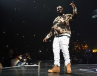 Rick Ross performs onstage during the Puff Daddy and The Family Bad Boy Reunion Tour at Barclays Center on May 20, 2016 in New York City