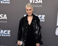 Jessie J attends the screening of 'Ice Age: Collision Course' at Zanuck Theater on July 16, 2016 in Los Angeles, California.