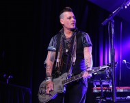 Johnny Depp from The Hollywood Vampires performs at the 2016 Starkey Hearing Foundation 'So the World May Hear' awards gala at the St Paul RiverCentre on July 17, 2016