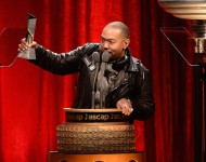 Timbaland accepts the Top Network Series Award for 'Empire' onstage during the 2016 ASCAP Screen Music Awards at The Beverly Hilton Hotel on March 24, 2016