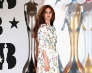Lana Del Rey attends the BRIT Awards 2016 at The O2 Arena on February 24, 2016 in London, England