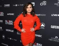 Demi Lovato attends the 2016 Global Citizen Festival at Central Park on September 24, 2016