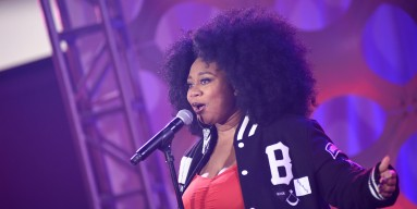 La'Porsha Renae performs on stage at iHeartRadio Theater on April 20, 2016