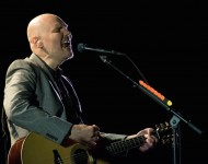 Billy Corgan of The Smashing Pumpkins performs in concert at The Beacon Theatre on April 4, 2016 in New York City