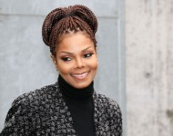 Janet Jackson attends Milan Fashion Week on February 25, 2014 in Milan, Italy