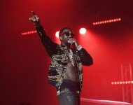 Gucci Mane performs on stage at Gucci and Friends Homecoming Concert at Fox Theatre on July 22, 2016 in Atlanta, Georgia