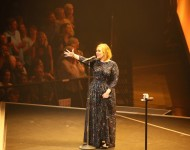 Adele performs at the Xcel Energy Center on July 5, 2016 in St Paul, Minnesota