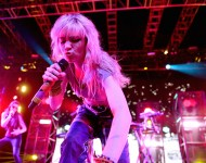 Grimes performs onstage during day 2 of the 2016 Coachella Valley Music & Arts Festival