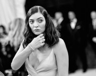 Lorde attends the 'Manus x Machina: Fashion In An Age Of Technology' Costume Institute Gala at Metropolitan Museum of Art on May 2, 2016 in New York City