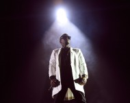 Sean 'Diddy' Combs performs onstage during the Bad Boy Family Reunion Tour at The Forum on October 4, 2016 in Inglewood, California