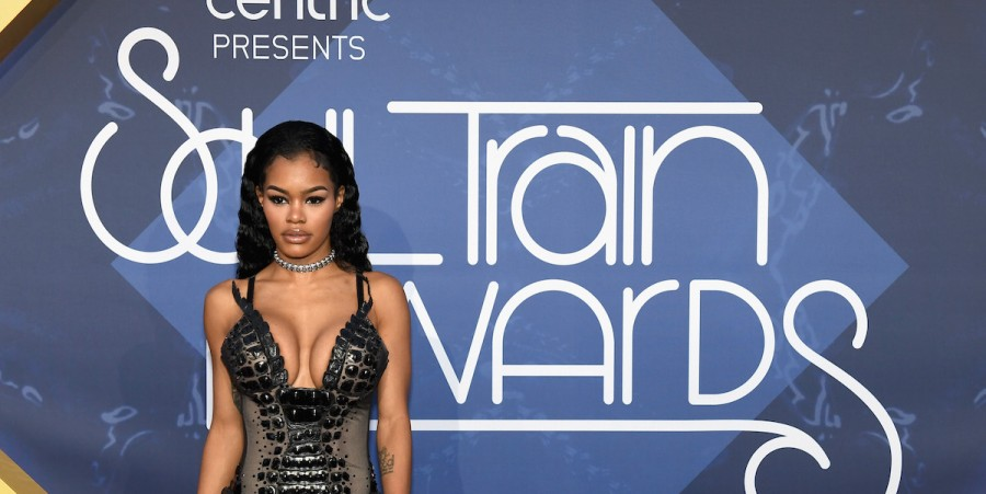 Teyana Taylor attends the 2016 Soul Train Music Awards at the Orleans Arena on November 6, 2016 in Las Vegas, Nevada