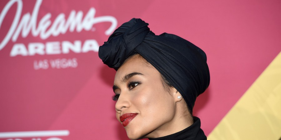 Yuna attends the 2016 Soul Train Music Awards at the Orleans Arena on November 6, 2016 in Las Vegas, Nevada