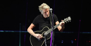 Roger Waters performs onstage during Desert Trip at the Empire Polo Field on October 9, 2016 in Indio, California