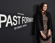 Mandy Moore attends Prada Presents 'Past Forward' by David O. Russell premiere at Hauser Wirth & Schimmel on November 15, 2016 in Los Angeles, California