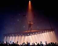 Kanye West performs at the Forum on October 25, 2016 in Inglewood, California