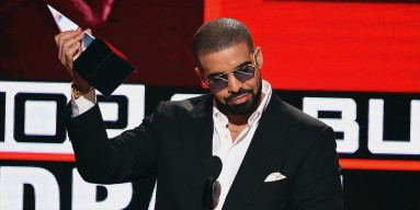 Drake onstage during the 2016 American Music Awards at Microsoft Theater on November 20, 2016 in Los Angeles, Californi
