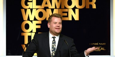 James Corden speaks onstage during Glamour Women Of The Year 2016 at NeueHouse Hollywood on November 14, 2016 in Los Angeles, California