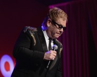 Elton John performs at the 15th Annual Elton John AIDS Foundation An Enduring Vision Benefit at Cipriani Wall Street on November 2, 2016 in New York City