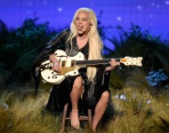 Lady Gaga performs onstage during the 2016 American Music Awards at Microsoft Theater on November 20, 2016 in Los Angeles, California